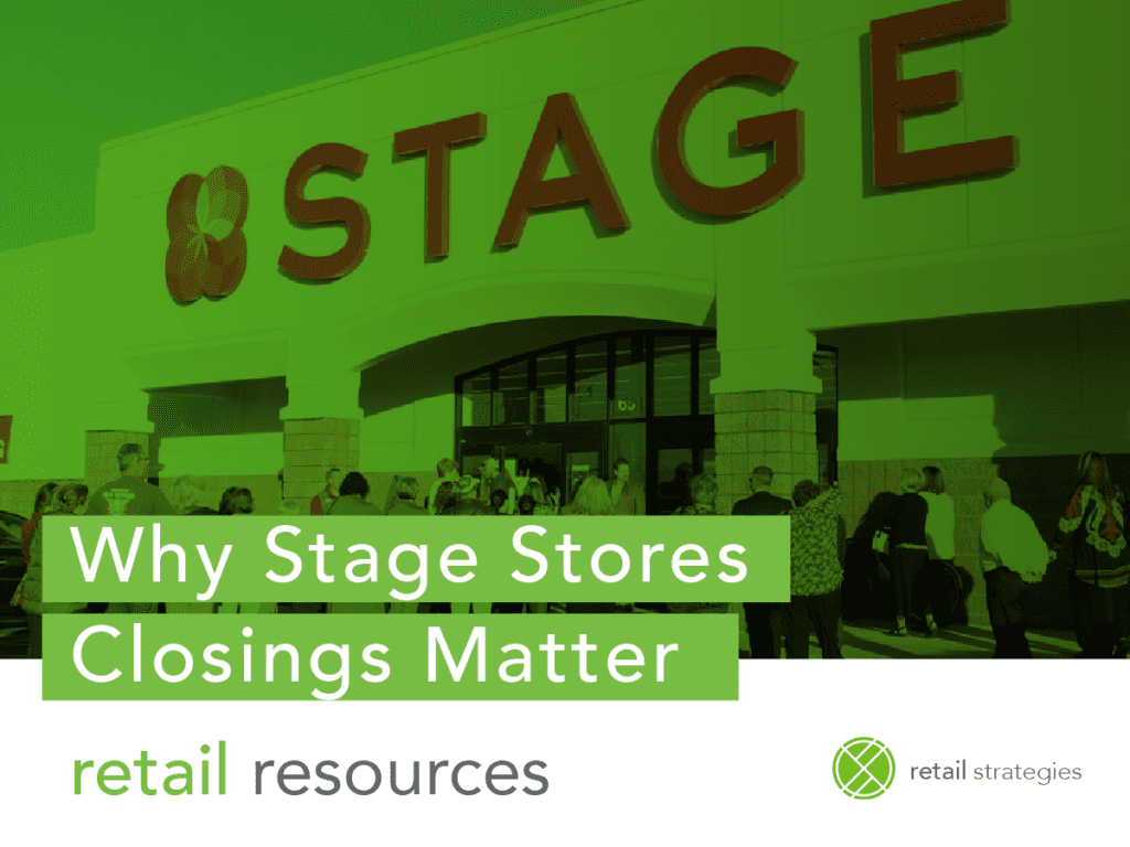why stage stores closings matter, closing list