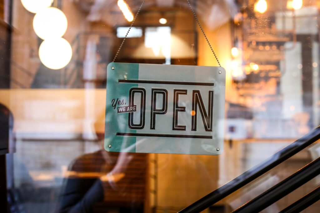 oen sign small business